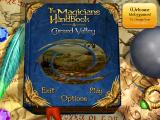 The Magician's Handbook: Cursed Valley Windows Main menu