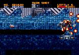 Lightening Force: Quest for the Darkstar Genesis A blue level