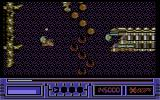 X-Out Commodore 64 Stage 3 - Now with destructible terrain.