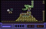 X-Out Commodore 64 Stage 3 Boss - Mutant grasshopper of doom?