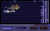 X-Out Commodore 64 Stage 5 Boss - Relentlessly crushes you against the border of the screen.