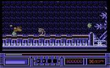 X-Out Commodore 64 Stage 6 - The little walker enemies are surprisingly well programmed.