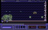X-Out Commodore 64 Stage 6 Boss - Some sort of giant green angry guinea pig...