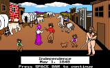 The Oregon Trail DOS Starting out in Missouri