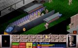 X-COM: UFO Defense DOS Your team arrived at the Terror Site.