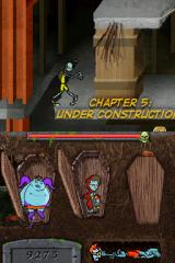 "Teenage Zombies: ""Invasion of the Alien Brain Thingys"" Nintendo DS The graphics change a little starting chapter 5..."