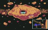 Aliants: The Desperate Battle For Earth! Commodore 64 The gate is opened and you started to land.