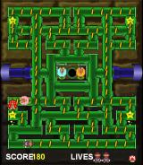 Mario Bros. in Pipe Panic Browser Level 1 with Mario.