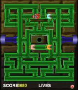 Mario Bros. in Pipe Panic Browser Mario on his last life.