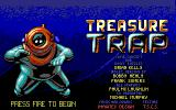 Treasure Trap DOS Title screen with credits (EGA)