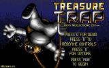 Treasure Trap DOS Start menu (VGA)