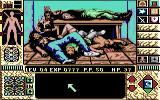 Elvira II: The Jaws of Cerberus Commodore 64 Thrown in the freezer with a bunch of bodies.  That's what fainting'll get you.
