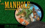 The Manhole: New and Enhanced DOS Title screen