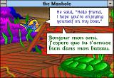 The Manhole: New and Enhanced Windows 3.x Fish translating the turtle French phrase.