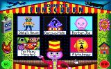 Rodney's Funscreen DOS Main menu