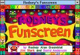 Rodney's Funscreen Windows 3.x Title screen