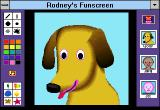 Rodney's Funscreen Windows 3.x Woof portrait