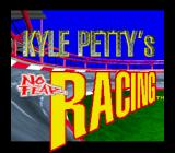 Kyle Petty's No Fear Racing SNES Title screen