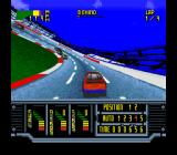 Kyle Petty's No Fear Racing SNES Trying to catch up with the pack