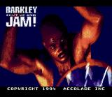 Barkley: Shut Up and Jam! SNES Title Screen
