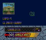 Kyle Petty's No Fear Racing SNES Choose a track to race on