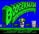 Boogerman: A Pick and Flick Adventure SNES Title Screen