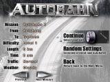 Autobahn Total Windows You can choose one of the 32 possible scenarios, or choose a random one to play.