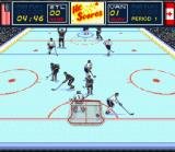 Brett Hull Hockey 95 SNES In Game