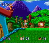 Bubsy in: Claws Encounters of the Furred Kind SNES In Game