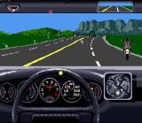 The Duel: Test Drive II SNES In Game