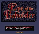 Eye of the Beholder SNES Title Screen