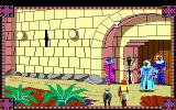 Conquests of Camelot: The Search for the Grail DOS The gate of Jerusalem is guarded by a bunch of thugs