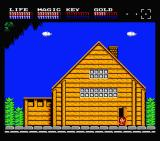 Legacy of the Wizard MSX Outside your house (MSX2)