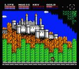 Legacy of the Wizard MSX Beautiful castle (MSX2)