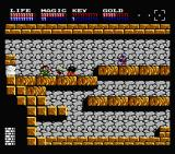 Legacy of the Wizard MSX Fighting enemies (MSX2)