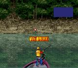 Mark Davis' The Fishing Master SNES Oops forgot to tie the lure