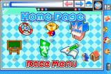 Konami Krazy Racers Game Boy Advance Menu