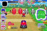 Konami Krazy Racers Game Boy Advance In Game