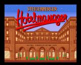Steigenberger Hotelmanager Amiga Title screen
