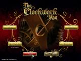 The Clockwork Man Windows Main menu