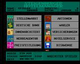 Steigenberger Hotelmanager Amiga Main management interface