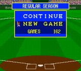 Super Bases Loaded 2 SNES Select the number of games in the season