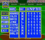 Super Bases Loaded 2 SNES Designing a team