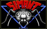 SimAnt: The Electronic Ant Colony Amiga Title screen