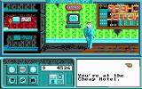 Neuromancer DOS Standing in the Cheap Hotel