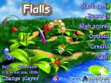 Flalls Windows Title screen and main menu