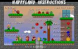 HappyLand Adventures Windows Basic instructions for playing if you can read the small font.