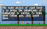 HappyLand Adventures Windows Old men stand around waiting to give you helpful hints like this.