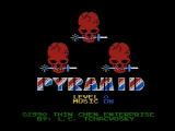 Pyramid NES Title screen