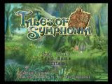 Tales of Symphonia GameCube Title Screen
